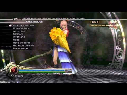Lightning Returns FFXIII - Guia conseguir y mejorar Habilidad Acero Hiriente FULL HD 1080p