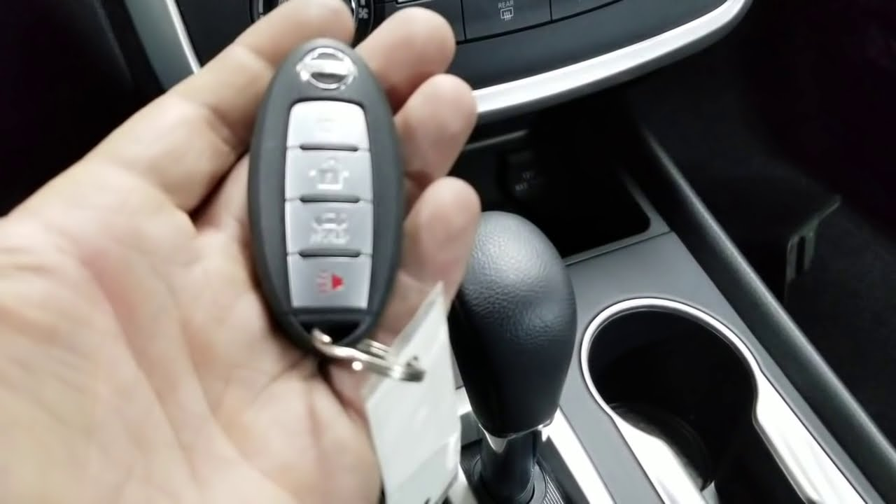 Кадр из видео Nissan Infiniti No Key Detected Incorrect Invalid