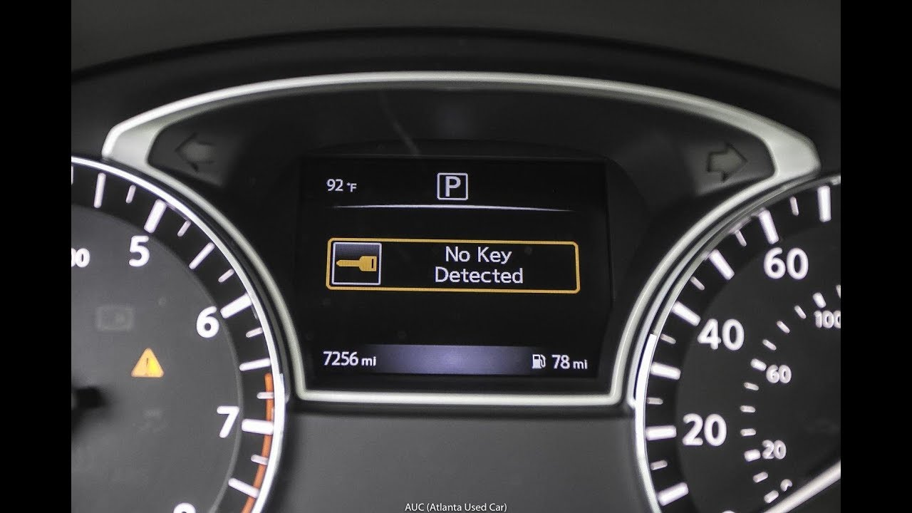 Nissan Infiniti No Key Detected Incorrect Invalid Id Easy And Fast Fix