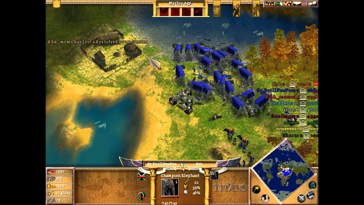 Age of mythology world map epic 8 playerspart 2 youtube gumiabroncs Gallery