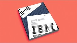 IBM Graphic Standards Manual by Paul Rand — a design story