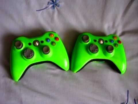 Painted Xbox  Controllers For Sale