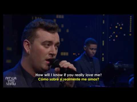 How will i Know - Sam Smith Subtitulada Español e ingles