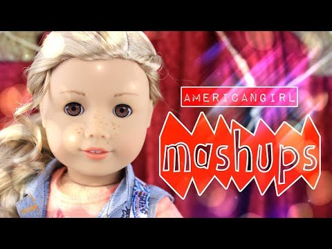 Mash Ups:  American Girl Crafts | How to Make | Sneakers | Bouquet Bed |Rainforest Room & more