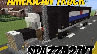 American Truck tutorial Minecraft