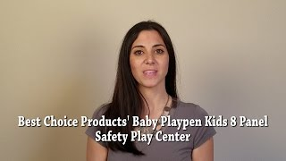 Video Best Choice Products' Baby Playpen Kids 8 Panel Safety Play Center download MP3, 3GP, MP4, WEBM, AVI, FLV Juni 2018