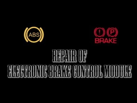 Chevy ABS and Brake Dash Light fix - YouTube