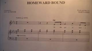 Homeward Bound Piano Accompaniment