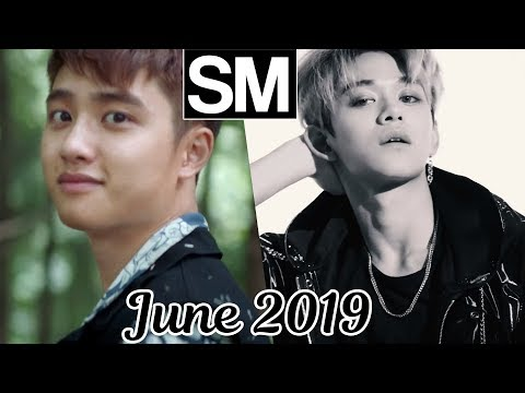 [TOP 100] Most Viewed SM Kpop MVs [June 2019]