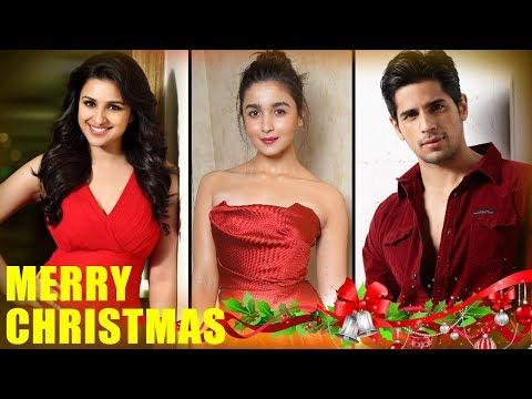 Bollywood Hungama Wishes Everyone A Merry Christmas   Parineeti   Alia   Sidharth