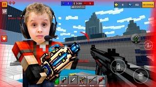 Pixel Gun 3D - Conhecendo o Jogo - Paulinho Jogando no Celular #1