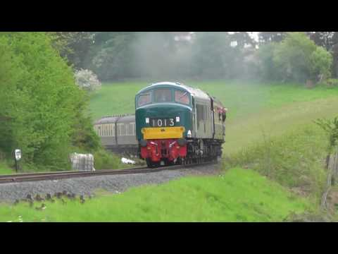 Severn Valley Diesel Gala 2016, Friday 20th May part 1