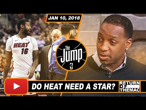 McGrady Impressed With Miami Heat Climbing to 4th Seed in East   The Jump   Jan 10, 2018