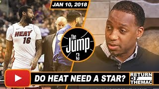 McGrady Impressed With Miami Heat Climbing to 4th Seed in East | The Jump | Jan 10, 2018