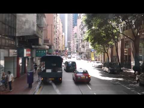 Cheapest Way to Get to Victoria Peak Hong Kong Bus Ride City