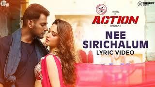 nee-sirichalum-action-2019-vishal-thamannah-f