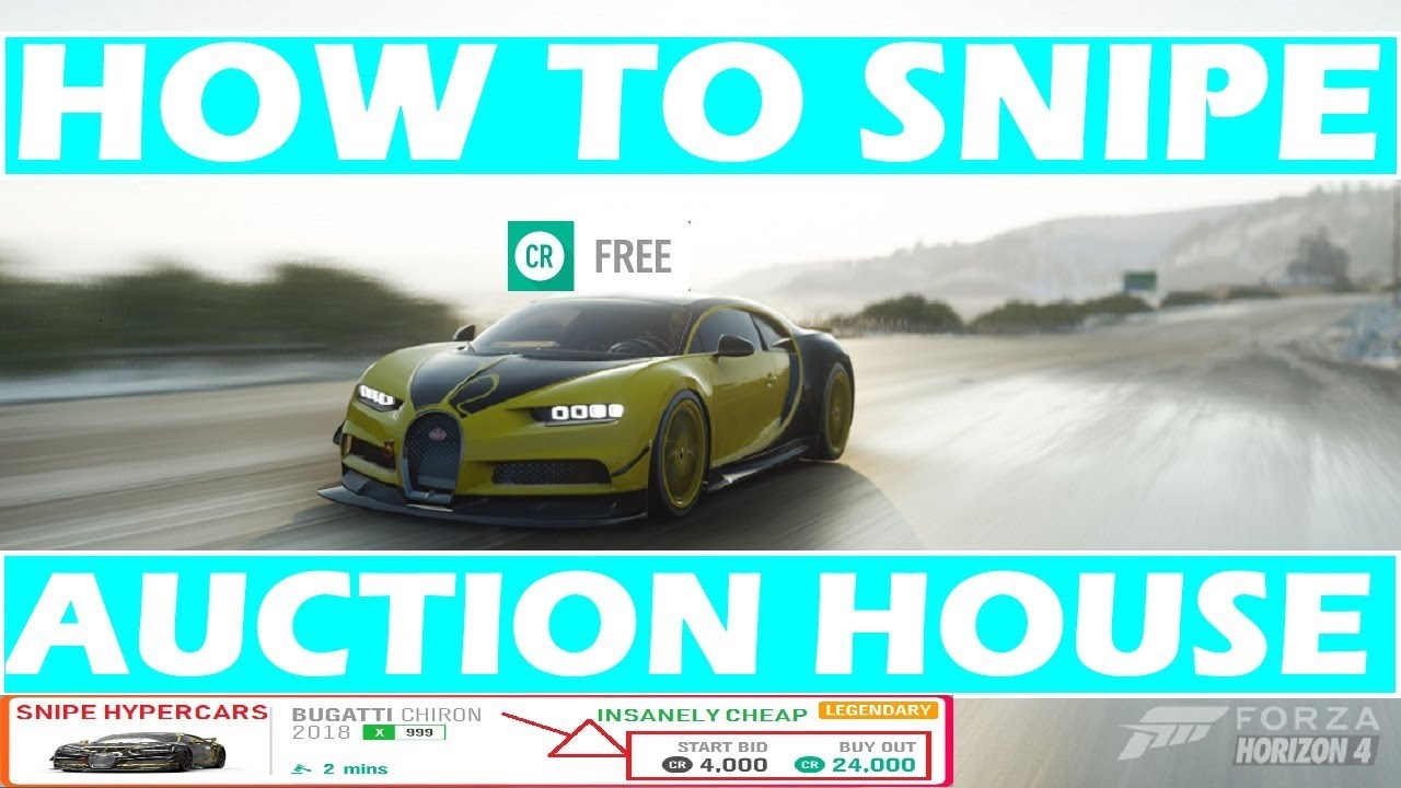 Forza Horizon 4 Auction House Guide: How To Make Sweets