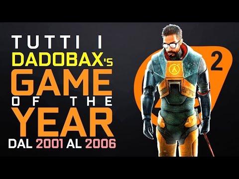 Tutti i DadoBax's Game of the Year dal 2001 al 2006 [PC, PlayStation 2, Xbox, Gamecube]