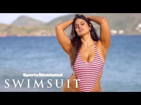 Ashley Graham Wears Nothing But Her Bikini Bottoms In Nevis   Sports Illustrated Swimsuit