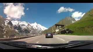 Grossglockner Auffahrt im Porsche 911 Carrera 4 GTS, GOPRO, Franz-Josef Höhe