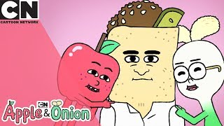 Tekkerz Kid Introduces: Apple & Onion | He Fix It - Sing Along | Cartoon Network