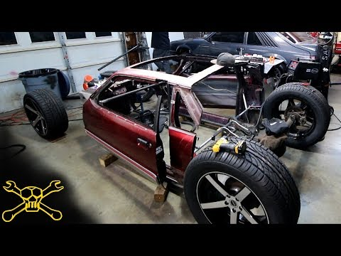 Mustang Hot Rod Build Gets More Chassis Work