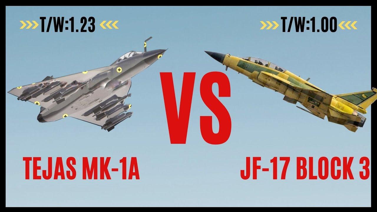 TEJAS MK-1A vs JF-17 BLOCK-3   RECENT upgrades - YouTube