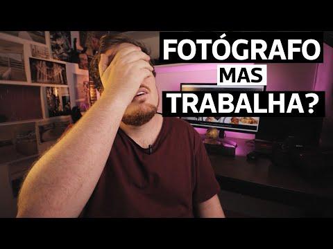 FOTÓGRAFO, Mas TRABALHA Com O QUÊ?