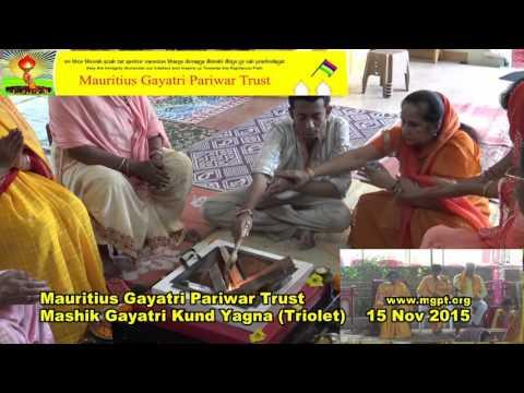 Mauritius Gayatri Pariwar Trust, Mashik Gayatri Kund Yagna, November 2015
