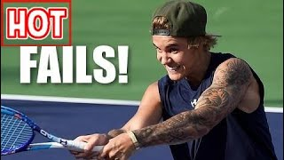 Justin Bieber & The Top 5 Celebrity Sports Fails Of All Time