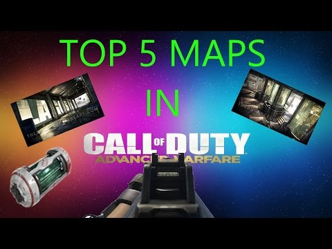 Top 5 Maps in AW?!!!