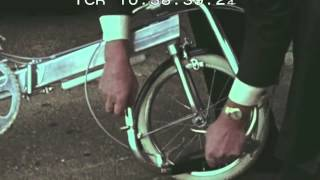 harry Bickerton and Bickerton Portable Bicycle