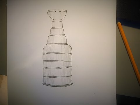 How to Draw the Stanley Cup (Easy)