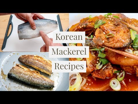 Korea's Favorite Fish: Mackerel! (2 Recipes)