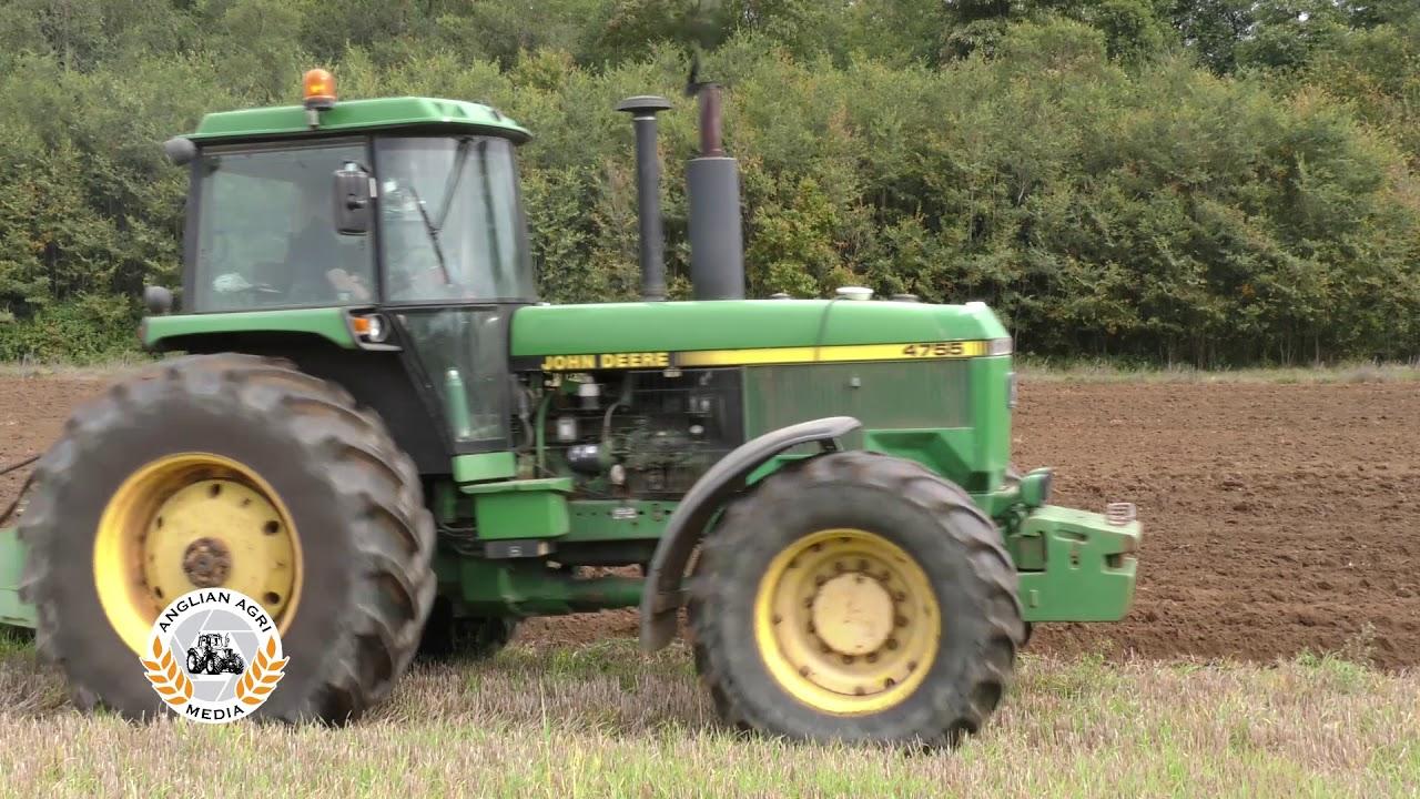 Project 55 Ploughing Dvd Teaser 4 John Deere 4055 4255