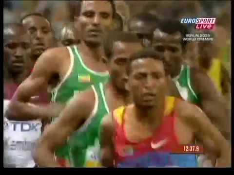 10 000 m – FINAL – Men – Athletics WCh 2009 – Berlin