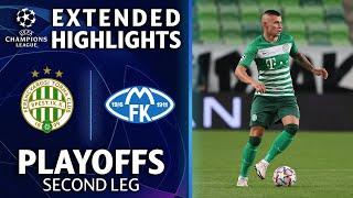 Ferencváros vs. Molde: Extended Highlights | Playoffs 2nd Leg | UCL on CBS