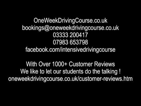 Intensive Driving Courses Lichfield
