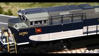 Review: Bachmann SD70ACe & ES44AC with Sound Value (Soundtraxx) HO Scale