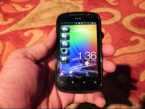 How to open HTC  Explorer phone