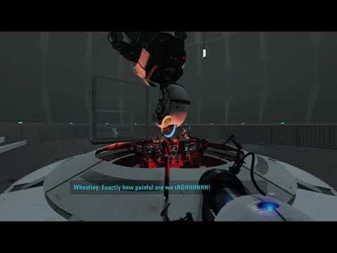 Portal 2 Blind Let's Play - Part 6 [No Commentary] (Wheatley's Hostile Takeover!)