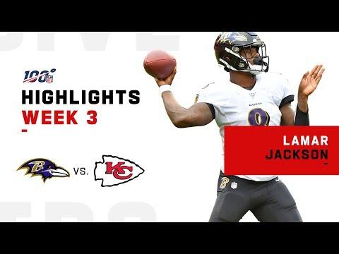 Lamar Jackson Highlights In QB Duel Vs. Mahomes   NFL 2019