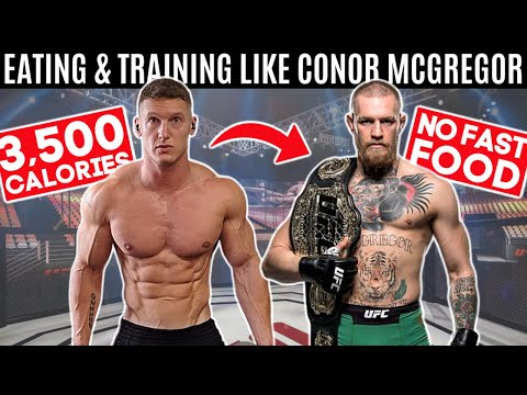 Bodybuilder tries Conor McGregor's DIET & WORKOUT for 24 hours... *3,500 CALORIES*
