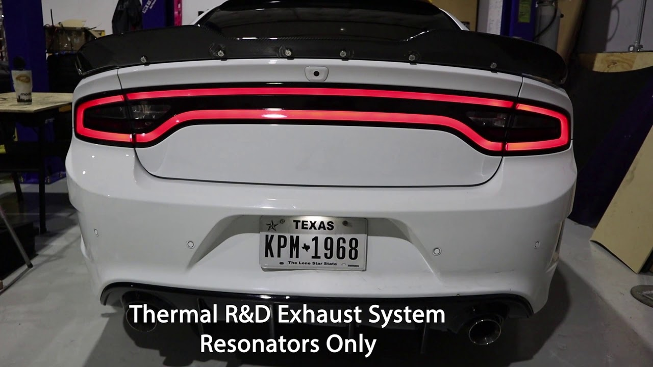 best sounding exhaust for dodge charger rt 5 7 hemi