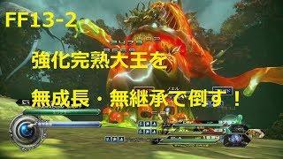 FF13-2 無成長・無継承/強化完熟大王戦