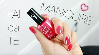 MANICURE FAI DA TE! - Rimmel London #gelpower