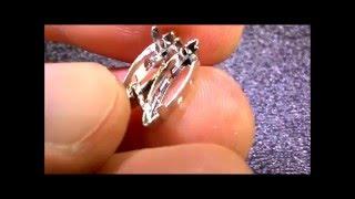 видео Ремонт ювелирных украшений и бижутерии