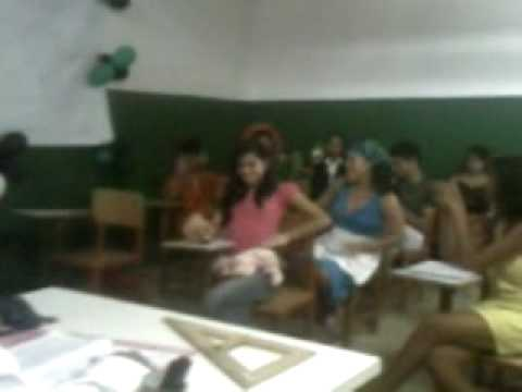 Apresentação da 8ª B Escola Jorge Camelo 04/06/2009