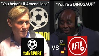 Simon Jordan And Robbie From AFTV Clash On TalkSport