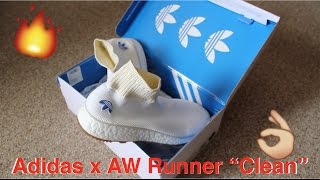 adidas x aw runner clean review